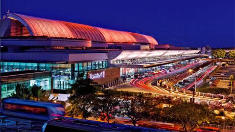 新加坡樟宜机场外景