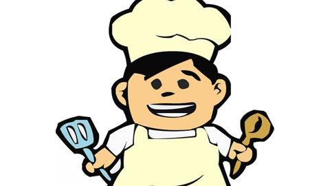 面点厨师卡通头像